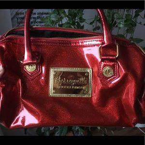 NWOT BETSEY JOHNSON holiday purse